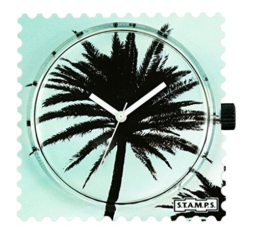 Stamps S T A M P S Uhr Zifferblatt Palm Tree 104298