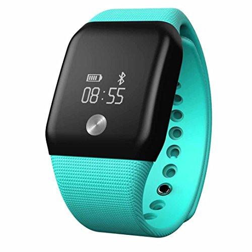 FEITONG A88 Watch Bluetooth Herzfrequenzmesser Blut Sauerstoffmonitor Smart Wristband Gruen