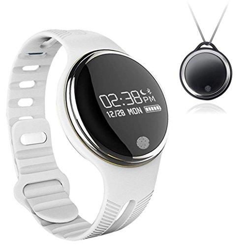 FEITONG IP67 Wasserdichte Bluetooth Smart Armbanduhr Sport Gesunde Pedometer Sleep Monitor Weiss