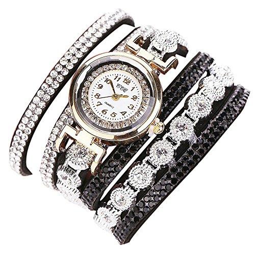 Sunnywill CCQ Frauen Maedchen Damen Schoene Mode Design Strass Armband fuer Weibliche