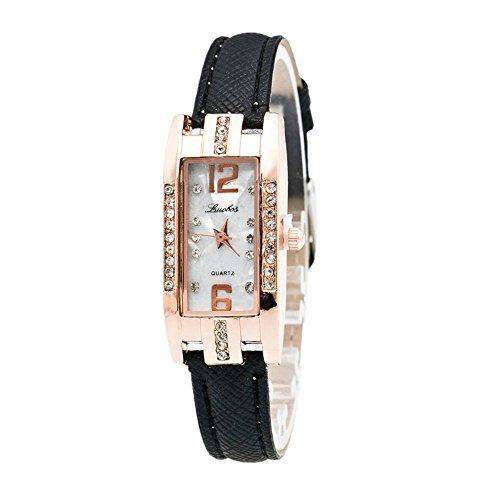 Sunnywill Frauen Maedchen Damen Schoene Mode Design Luxus Armband Uhr Uhren fuer Weibliche