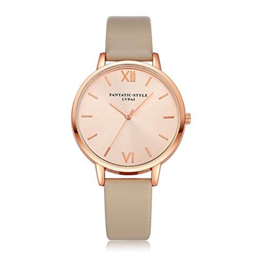 Sunnywill LVPAI Frauen Maedchen Damen Schoene Mode Design Luxus Khaki Armband Uhr Uhren fuer Weibliche