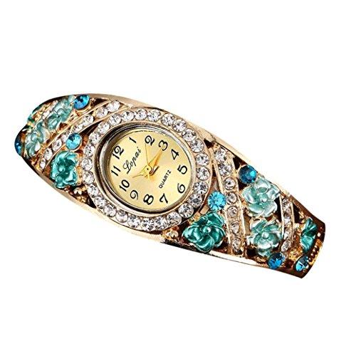 Sunnywill LVPAI Frauen Maedchen Damen Schoene Mode Design Luxus Blau Armband Uhr Uhren fuer Weibliche