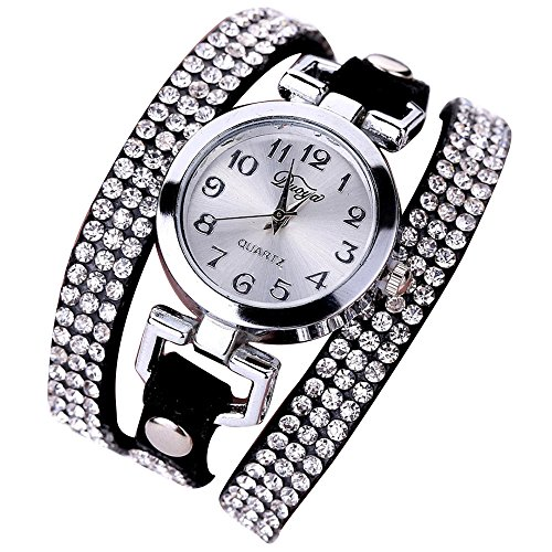 Sunnywill Frauen Maedchen Damen Schoene Mode Design Luxus Anhaenger Uhren Armbanduhr fuer Weibliche