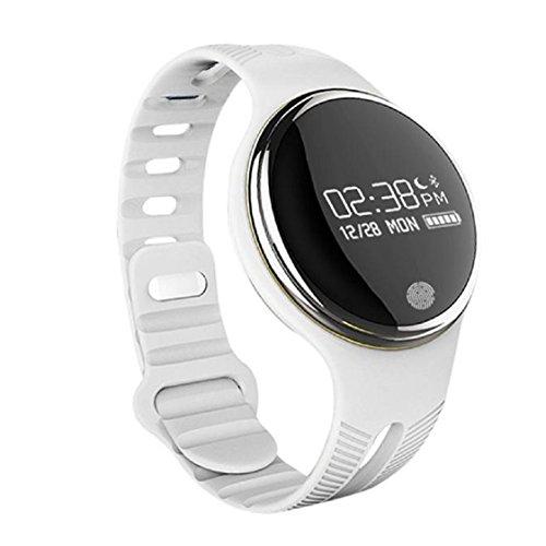 Vovotrade 2016 Neueste IP67 wasserdichte Bluetooth Smart Armband Uhr Sport Gesunde Pedometer Schlaf Monitor Weiss