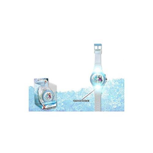 Armbanduhr LED digital Frozen Die Eiskoenigin Kinder Maedchen