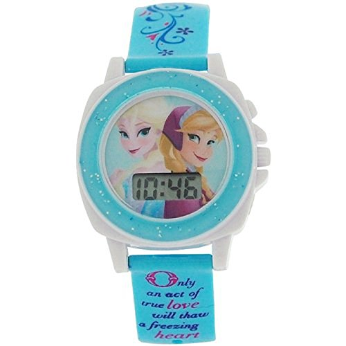 Disney Frozen Singing Let It Go Kunststoff Digitaluhr FZN3677