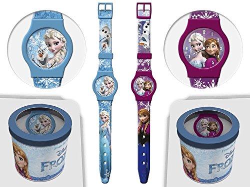 Frozen Kinder Armbanduhr Disney Kids Uhr mit Zeiger 41441