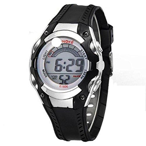 XY Fancy 3ATM Wasserbestaendigkeit Sportuhr Hintergrundbeleuchtung Digital Uhr Schwarz