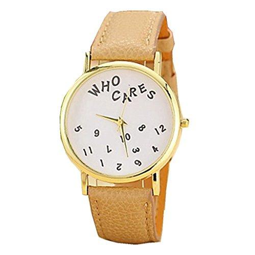Fashion YPS Genf MenLady Wer Texte pu Uhrenarmbands WTH3122 Cares