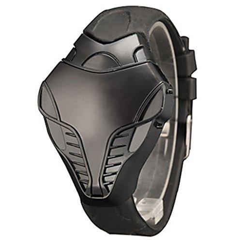 Dial Sport Handgelenk B gel Silikon Digital LED Iron Man Cobra Triangle YPS WTH2940