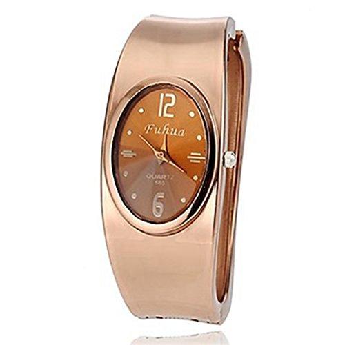 YPS Damenmode Bronzelegierungs Quarz Armband Uhr WTH8332