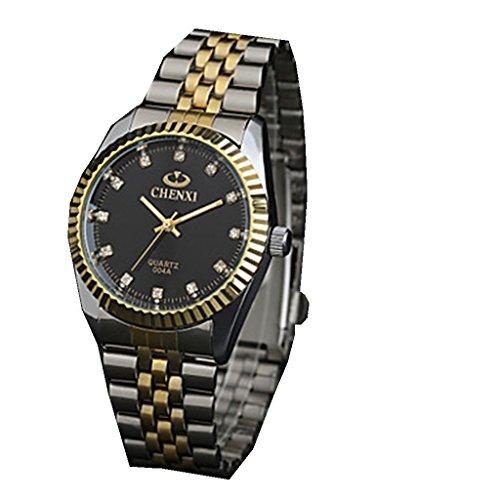 YPS Herren Elegant Design Kleid japanische Quarz Stahlband Armbanduhr WTH2912