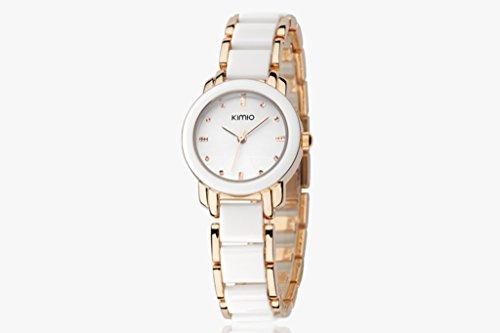 YPS Women Fashion Elegant Design Exquisite Aussehen Gold Weiss WTH3263