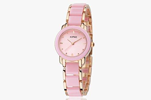 YPS Women Fashion Elegant Design Exquisite Aussehen Rosa Gold WTH3264