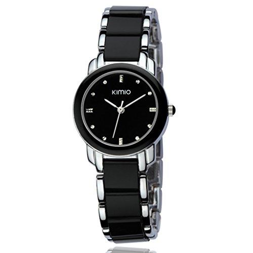 YPS Women Fashion Elegant Design Exquisite Aussehen Silber Schwarz WTH3260