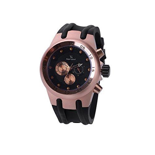 YPS Mens Fashion Sports and Leisure Military Quartz Wrist Watch WTH3151