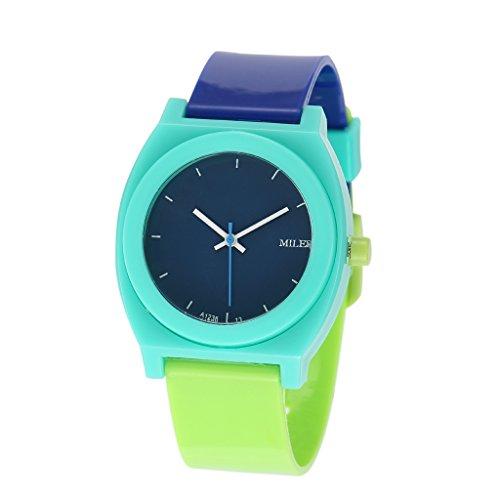 YPS Women Fashion Trend Silikon Miler Bunte Einfach Nizza Art Armbanduhr WTH8339