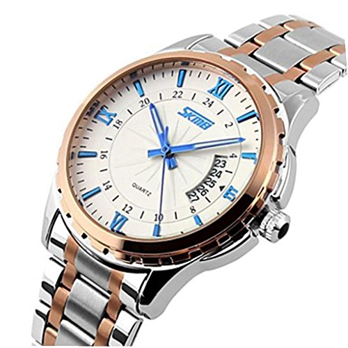 YPS Herren Marke Luxus Auto Datum Quarz voller Stahl Armbanduhr Blau WTH3339