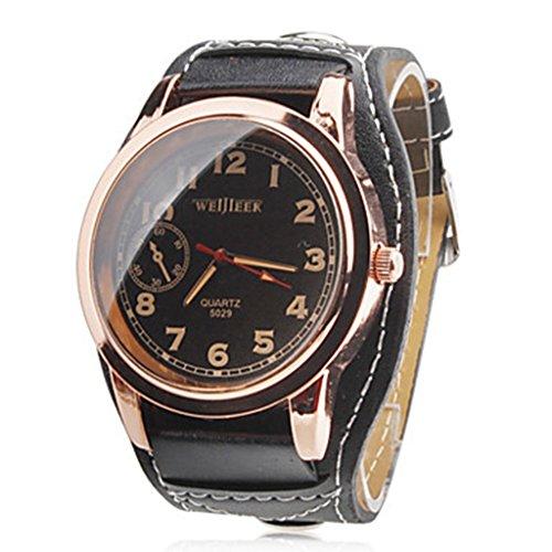 YPS Herren Rosegold Kleid Armbanduhr WTH8320