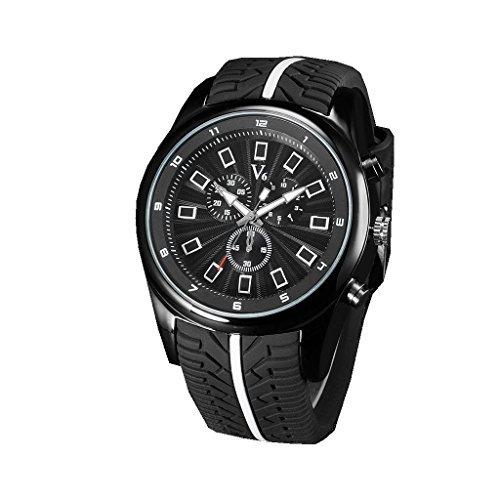 YPS Mens Luxury Leisure Business Outdoor Sports Quartz Wrist Watch WTH3186