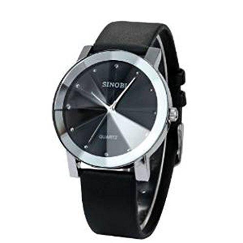 YPS Maenner beilaeufige Art Geschaefts Armbanduhr Schwarz WTH0163