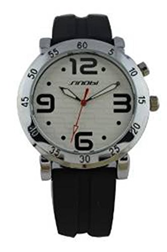 YPS Maenner Frauen Analog Nacht Sports Silikon Armbanduhr WTH0271
