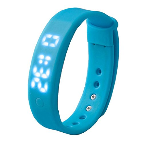 YPS Unisex 3D Pedometer Smart Sport Armband Eignung Band fuer Android Phone Windos PC Armbanduhr WTH3293