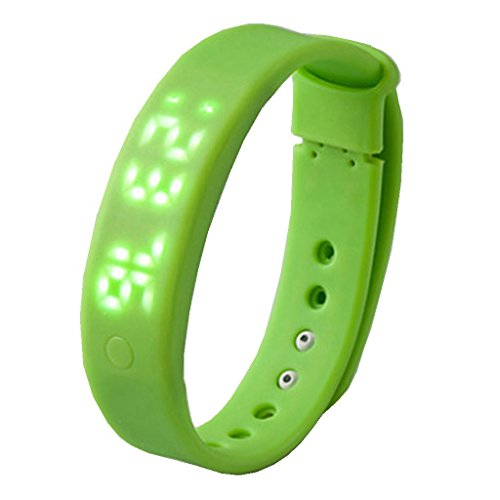 YPS Unisex 3D Pedometer Smart Sport Armband Eignung Band fuer Android Phone Windos PC Armbanduhr WTH3292