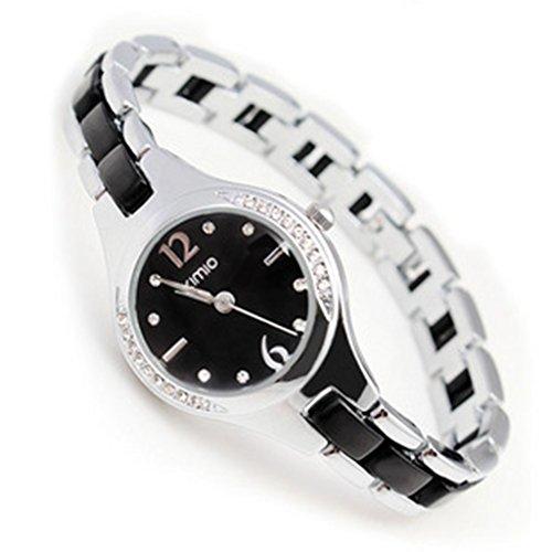 YPS Ladies New Kimio Uhr bunte Kristalldiamantshipping K449L Black WTH4021
