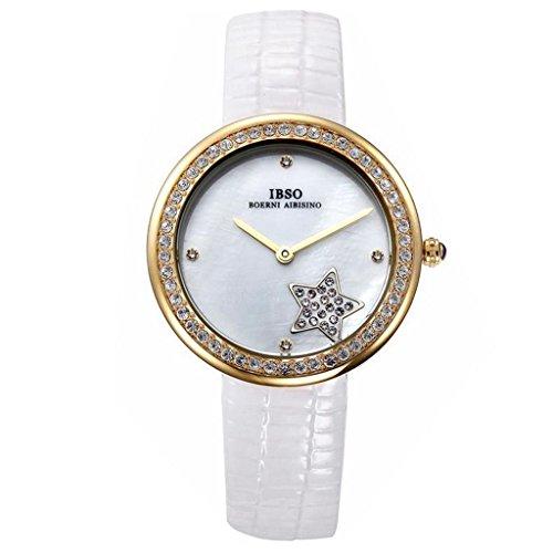 YPS Frauen wirklich G rtel Kratzfeste Art und Weise Pentagram Quarz Armbanduhr WTH4722
