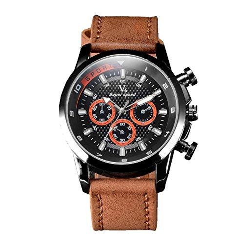 YPS Herren Luxus High End Freizeit Business Mode Quarz Wrist Watch WTH3222