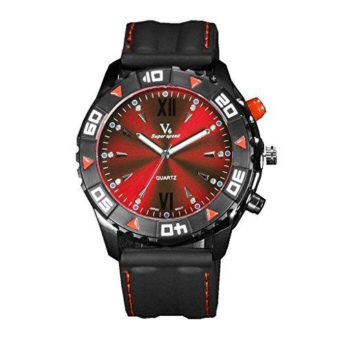 YPS Herren Luxus High End Freizeit Business Mode Quarz Wrsit Uhren WTH3206