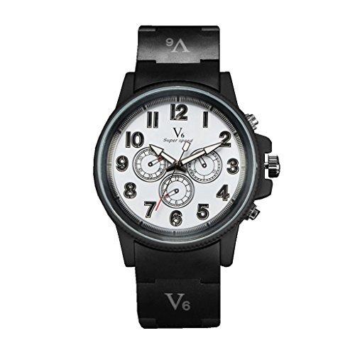 YPS Herren Mode genaue Zeit Handarbeit ist zarte Quarz Wrist Watch WTH3215