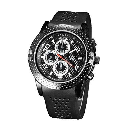 YPS Herren Mode laessig genaue Zeit Handbuch Arbeit ist zarte Quarz Wrist WatchWTH3217