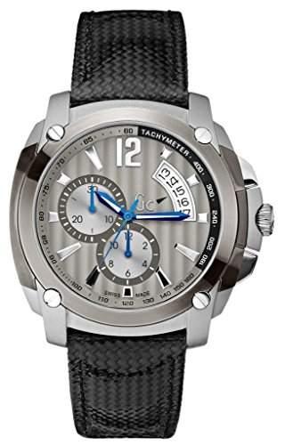 Gc Herren-Armbanduhr XL Bel Gent Class Chrono Chronograph Quarz Leder X78004G5S