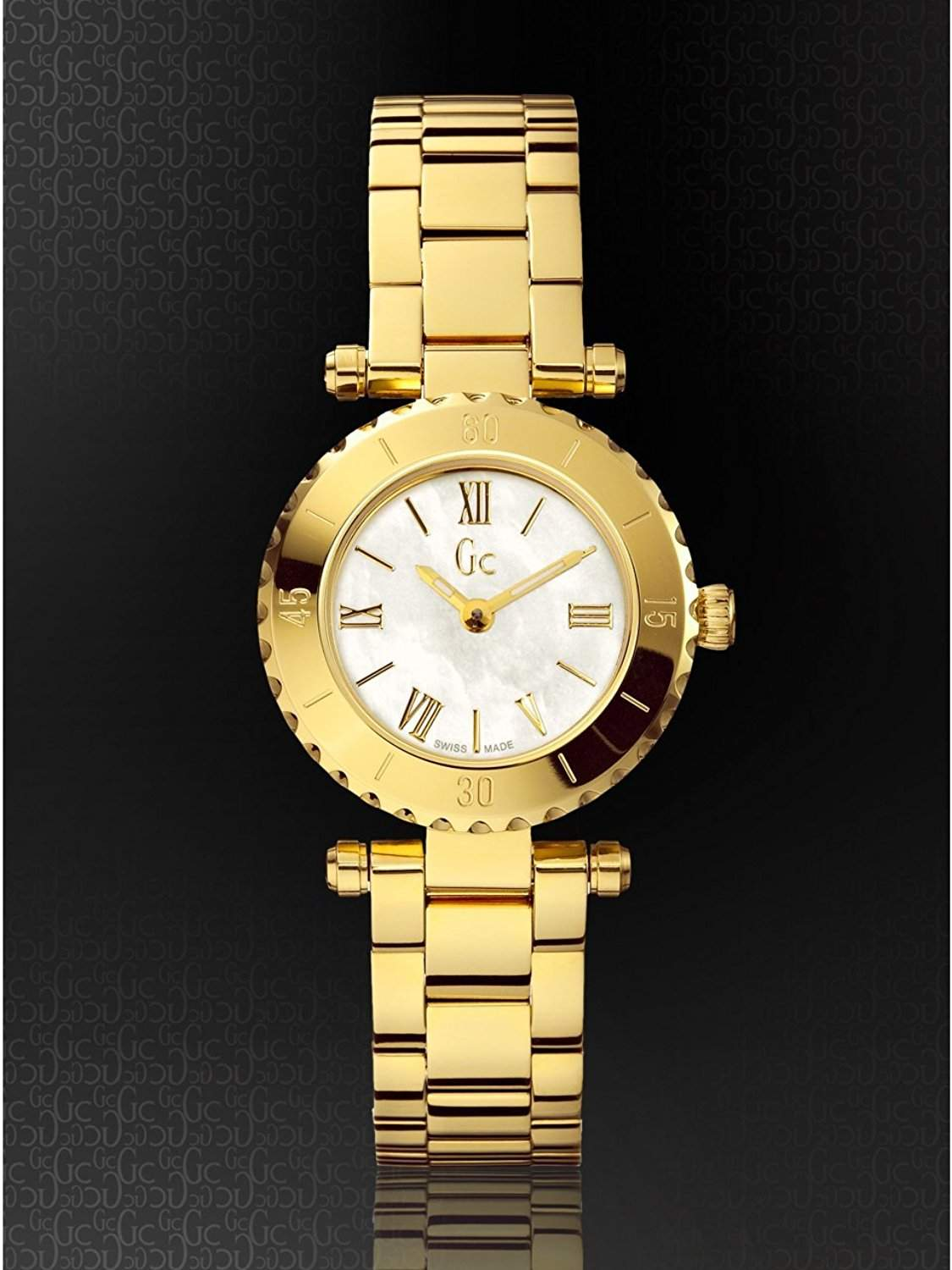 Guess Gc Mini Chic Damen Gold X70008L1S