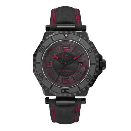 Uhr Guess Collection Gc Aqua Sport X79007g2s Herren Schwarz