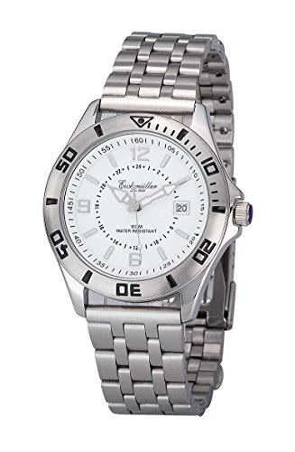 Eichmueller Armbanduhr 3210 02 Edelstahl Taucheruhr