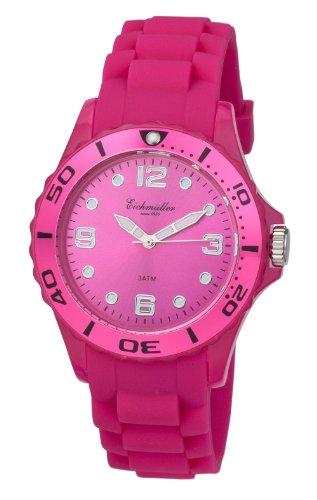 Hochwertige Silikon Unisex Uhr Pink