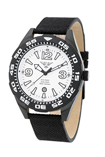 ARMY WATCH Sport by Eichmueller Taucheruhr 20 ATM 200m Wasserdicht M181