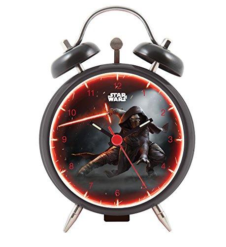 Star Wars Episode VII Joy Toy Kylo Ren Wecker aus Metall 9 cm in Geschenkpackung 4 5x9x13 cm 27381