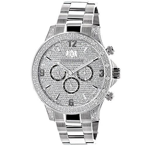 Celebrity Diamond Watch for Men by LUXURMAN 0 5ct Liberty