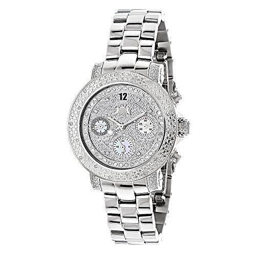 Luxurman Ladies Diamond Watch 0 30ct