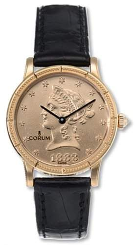 "Corum Golduhr mit echter 10$ ""Liberty"" Muenze ano 1881 Gold SELTEN! * UVP 11300€"
