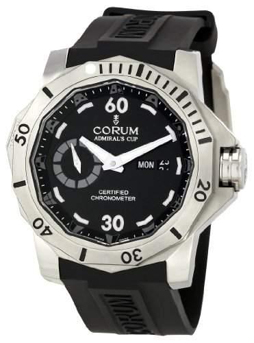Corum Herren 947950040371 AN12 Admirals Cup Black Dial Uhr