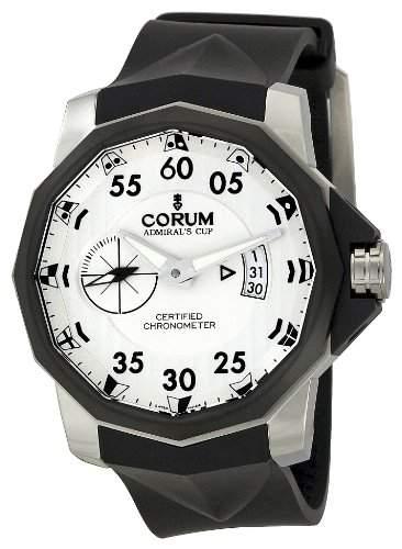 Corum Herren 947951940371 AK14 Admirals Cup Silber Zifferblatt