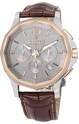 Corum Admirals Cup Herren 42mm Chronograph Saphirglas Uhr 98410124-OF02 FH11