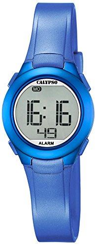 Calypso Damenarmbanduhr Quarzuhr Kunststoffuhr mit Polyurethanband Alarm Chronograph digital alle Modelle K5677 Variante 05
