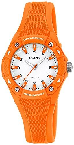 Calypso Damenarmbanduhr Quarzuhr Kunststoffuhr mit Polyurethanband analog alle Modelle K5675 Variante 06